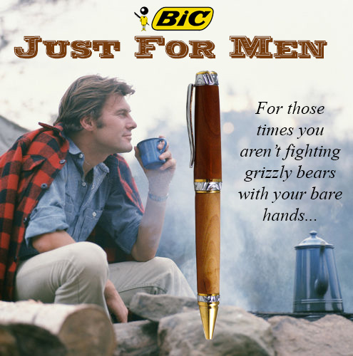 Just for Men BIC Pen