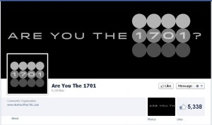 Are you the 1701 Facebook